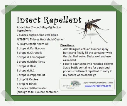 Insect Repellent Recipe JP