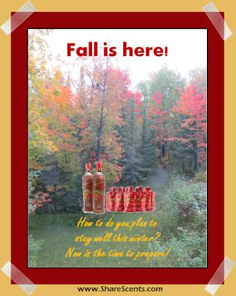 Fall is here prepare